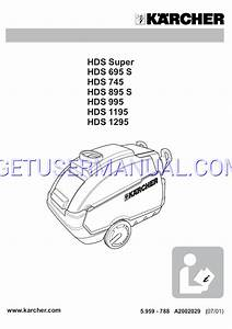 Karcher Hds 745 Wiring Diagram