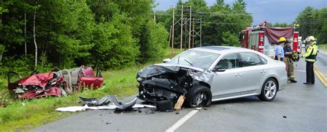 Route 3 Wrecks In Augusta, China Injure 5, 1 Seriously