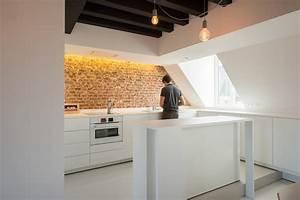 Appartement sous combles Comment créer une cuisine ou un séjour ? Viving