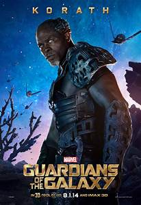 Guardians of the Galaxy Posters Featuring Ronan, Nebula ...