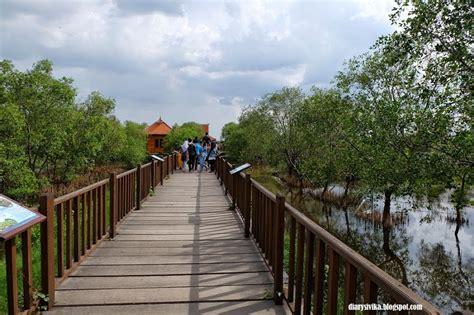 wisata surabaya mangrove wonorejo diarysivika food