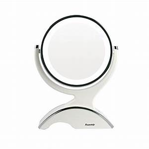 Badspiegel Beleuchtung Schminken : auxmir kosmetikspiegel led beleuchtet mit 1 10x vergr erung schminkspiegel makeup spiegel mit ~ Sanjose-hotels-ca.com Haus und Dekorationen