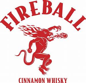 """Fireball Cinnamon Whiskey Logo"" Stickers by lrandell17 ..."