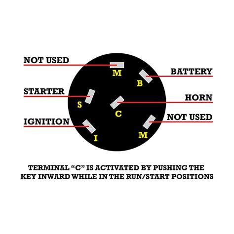 Custom Motorcycle Ignition Spring Start Key Switch