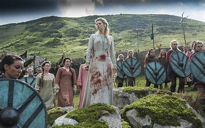 Vikings Lagertha Wallpapers Lothbrok Katheryn Winnick Shield