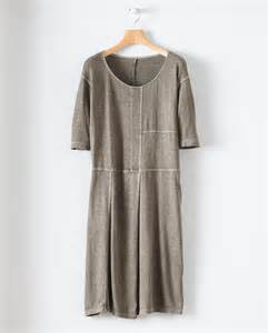 poetry fashion de poetry jersey kleid aus hanf baumwoll mix