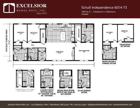 Schult Independence  Home Plan Excelsior Homes West