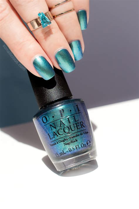 OPI This Color's Making Waves... Really!