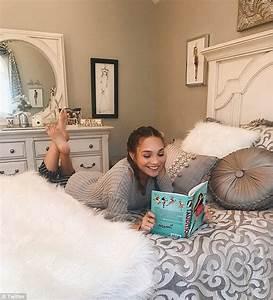 Maddie Ziegler takes fans inside her lavish bedroom