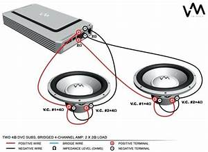 Kicker Cvr 12 2 Ohm Wiring Diagram Fresh 4 Dual Voice Coil