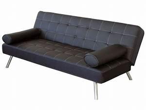 banquette clic clac joy coloris noir en pu vente de With tapis chambre bébé avec canapé clic clac qualité
