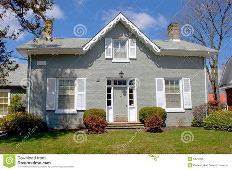 Altes Graues Haus Stockbild. Bild Von Gras, Erbe