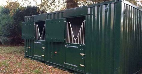 Shipping container Stalls   HORSE   Pinterest   Shipping