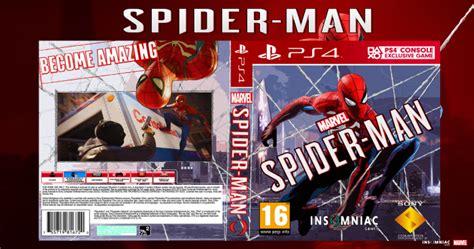 spider man playstation  box art cover  maxhunter