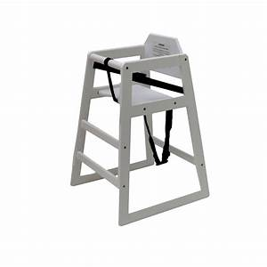 Kids wooden high chair white gbp2499 oypla stocking for Kids white wooden chair