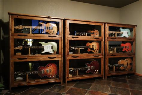 rock cabinet how to decorate a room with guitars staunton