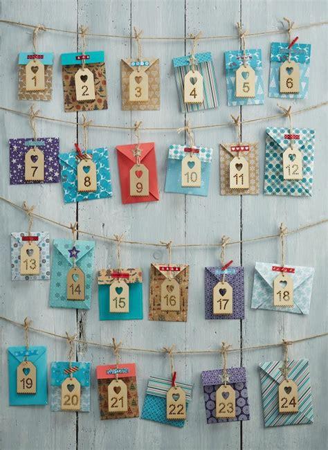 how to make advent calendar how to make an envelope advent calendar hobbycraft blog