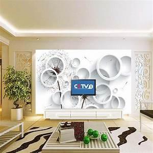 Aliexpress.com : Buy Circle Abstract 3D Wallpaper Photo ...