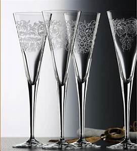 Flûtes à Champagne Originales : flutes champagne cristal fl tes cristal art deco ~ Teatrodelosmanantiales.com Idées de Décoration