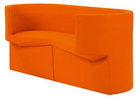 2 Posti Tessuto Arancione By Classicon