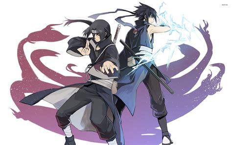 itachi uchiha  sasuke uchiha  naruto wallpapers anime
