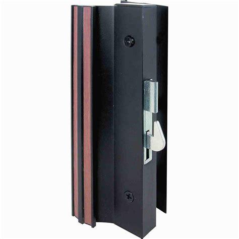 prime line patio door handle set with wooden handle c 1204