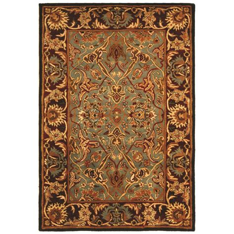4 Area Rugs by Safavieh Heritage Light Blue 4 Ft X 6 Ft Area Rug