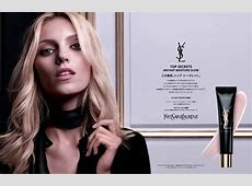 Anja Rubik for Yves Saint Laurent Top Secrets Instant