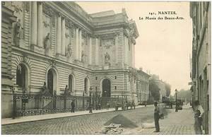 Musée Beaux Arts Nantes : 44 nantes le mus e des beaux arts avec ouvriers paveurs ~ Nature-et-papiers.com Idées de Décoration