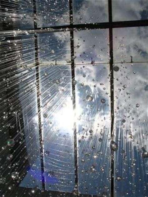 fake raindrop fixtures  rain shade brings  wet