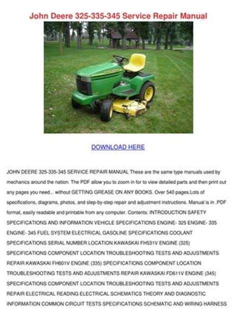 John Deere Service Repair Manual Kari Mabey