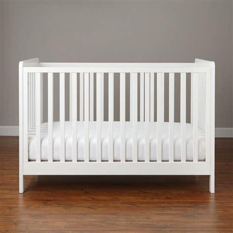 carousel crib white  land  nod