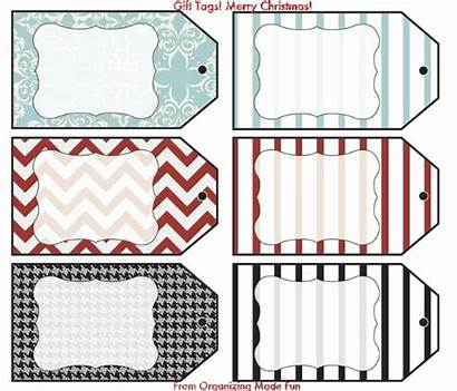 Blank Gift Printable Christmas Tags Thank Labels