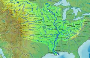 Mississippi River Map