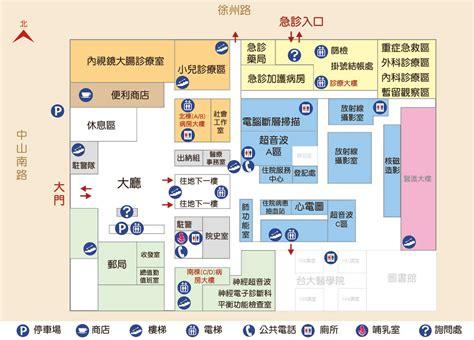 floor plan 醫院配置圖 東址配置圖