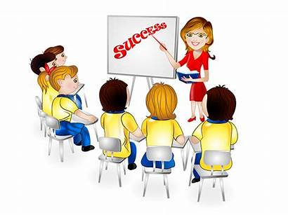 Clipart Training Trained Staff Employee Meeting Sales