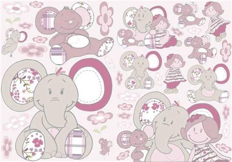 chambre de bebe complete a petit prix noukies décoration murale autocollant kali et kenza