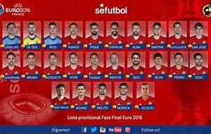 Lista España Eurocopa 2016: Lucas Vázquez y Saúl, las novedades; Alcácer, Costa y Mata se quedan