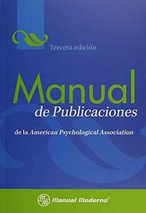 Free Download  Manual De Publicaciones De La American