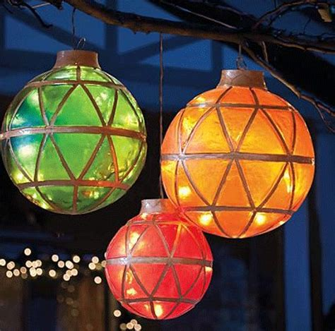 Illuminated #led #ornaments  Holidays  Pinterest