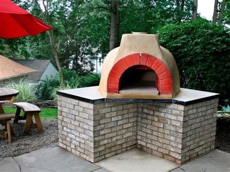 backyard pizza oven diy pizzaofen im garten selber bauen