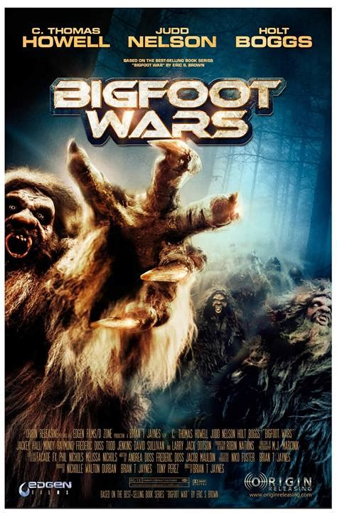 bigfoot wars movie poster sasquatch trailer vs exists skookum horror battle film war based bloody disgusting another related blockbusters topics