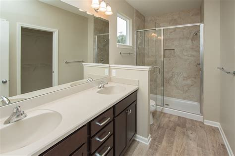 master bathroom features luxury vinyl tile lvt floors
