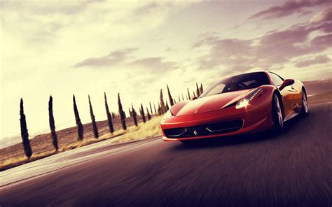 2088 Red Car Hd Wallpapers