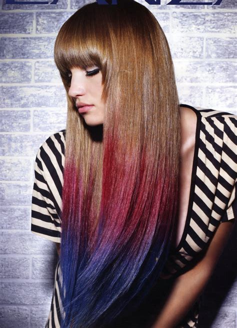 Colored Hair by How To Use Colored Hair Chalks Tips And Tricks