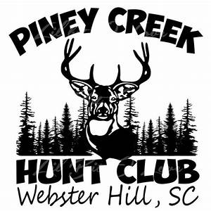Custom Hunt Club Decals Personalized for Your Hunt Club