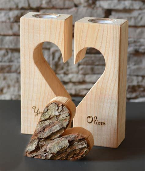 Teelichthalter Mit Herz, Holzdeko Holzdeko