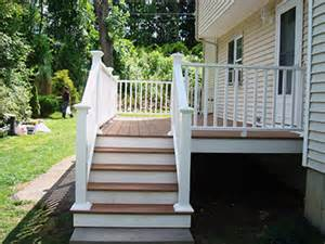 Colonial Front Porch Designs Massachusetts Composite Deck Photo Gallery Worcester Composite Deck Contractor