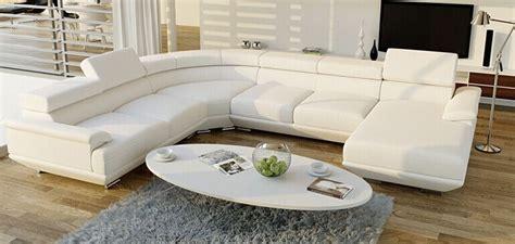 canapé en forme de u moderne royale blanc noir u canapé en forme dubai meubles