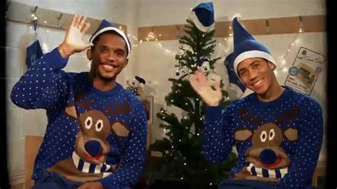 Samuel Eto'o And Steven Pienaar Have The Perfect Everton Christmas Invites Party Templates Gift Ideas For Church Games Adults Pranks Drinks Kids Planners Cookie